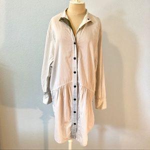 Stella McCartney oversized shirt dress